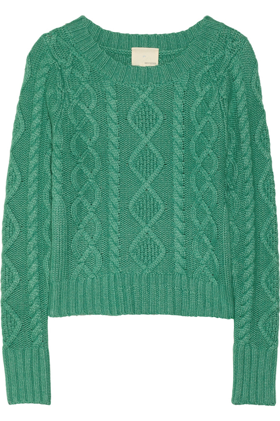 Cable-knit sweater | Band of Outsiders | 60% off | THE OUTNET