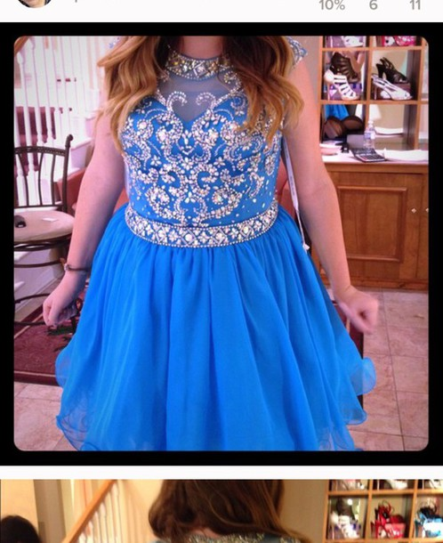 dress short prom dress sparkle