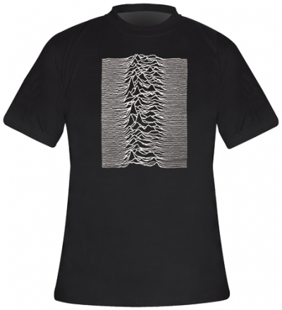T-Shirt Mec JOY DIVISION - Unknown Pleasure - T-Shirts - Rock A Gogo