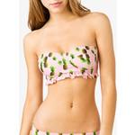 Pineapple Print Bandeau Bikini Top - Forever 21 - Polyvore