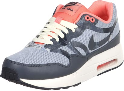Nike Air Max 1 Premium Tape W chaussures gris rouge