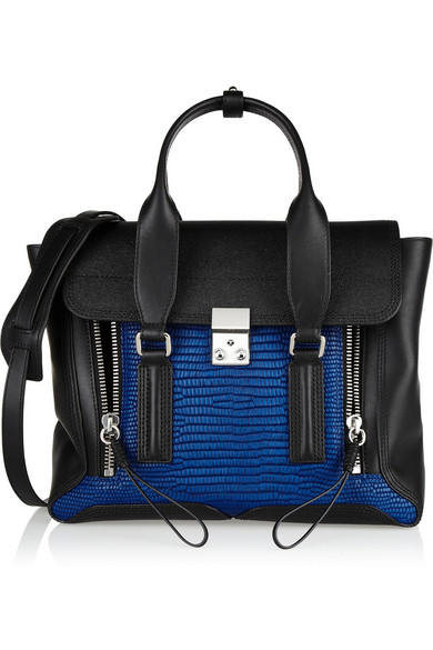 3.1 Phillip Lim|The Pashli medium leather trapeze bag|NET-A-PORTER.COM