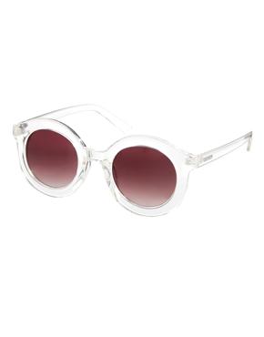 Minkpink | Minkpink Walk This Way Round Sunglasses at ASOS