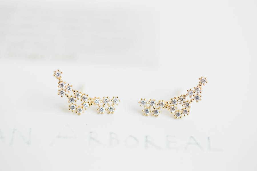 Cz Constellation Earrings, Jewelry,Earrings,Dangle,star Earrings,star Astrology ,cz Earrings,star Co on Luulla