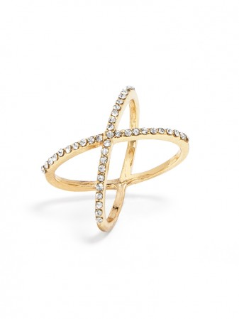 Crystal Mason Ring Ring | BaubleBar