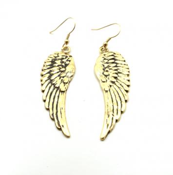 Vintage Wing Dangle Earrings