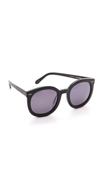 Karen Walker Special Fit Super Duper Strength Sunglasses   SHOPBOP