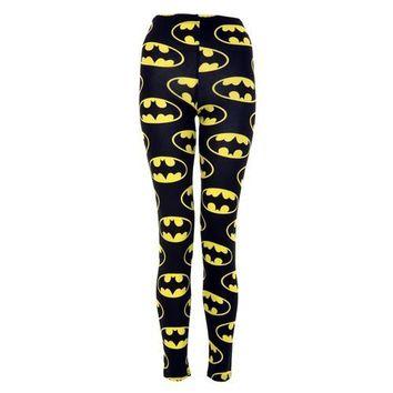 Vip Women's Full Length Batman Leggings on Wanelo