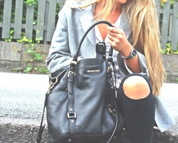 bag black purse michael kors