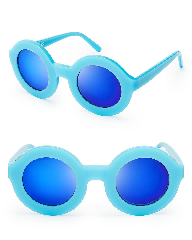 WILDFOX Twiggy Deluxe Mirror Sunglasses | Bloomingdale's