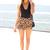SABO SKIRT  Cheetah Shorts - Brown - 42.0000