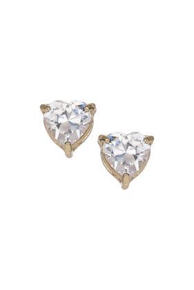 Cubic Zirconia Stud Earrings - Jewellery  - Bags & Accessories  - Topshop