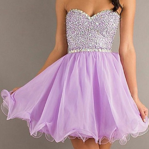 dress sparkly dress purple dress