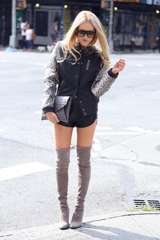 cheyenne meets chanel jacket shirt bag shorts shoes sunglasses