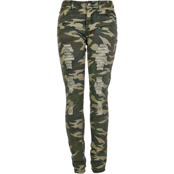 jeans camo pants