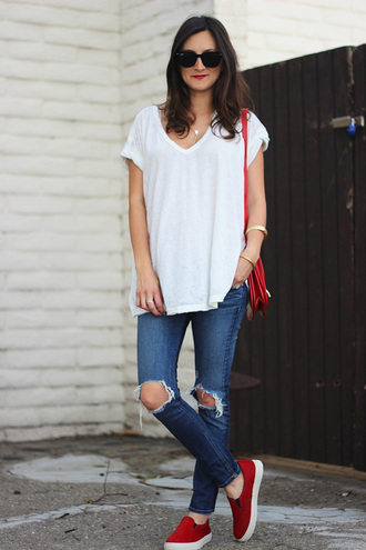 frankie hearts fashion t-shirt jeans shoes bag