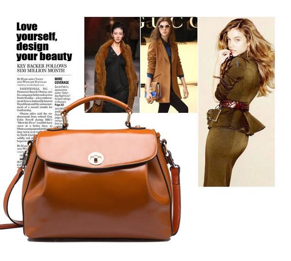 bag leather bag leather women bags bags 2014 female bags messenger bag vintage handbag genuine leather bag