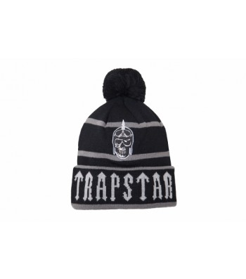 Riders Irongate base bobble (black/grey) - Hats  | Streetwear Clothing | Trapstar