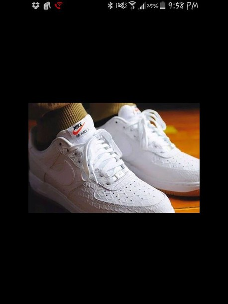 shoes nike air force 1 sneakers