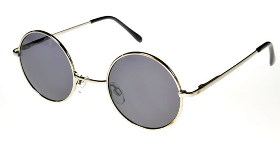 John Lennon Inspired Sunglasses by SHOPBITTERNYC on Etsy