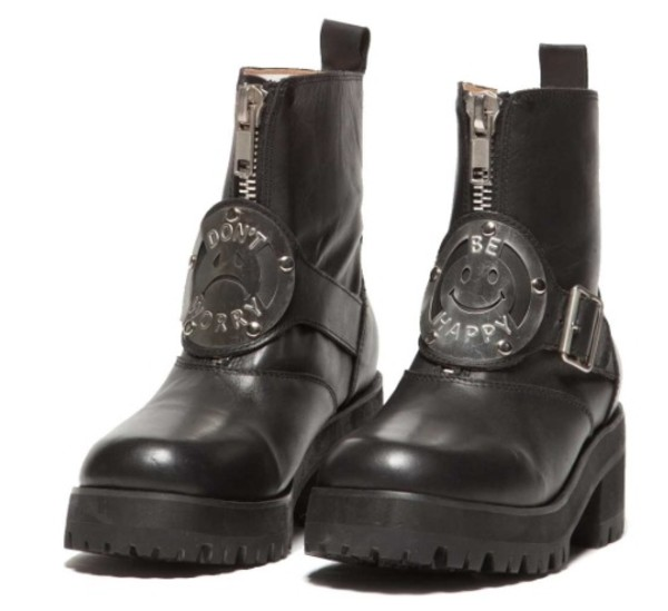 shoes combat boots black boots vintage DrMartens boots dont worry be happy cats DrMartens black