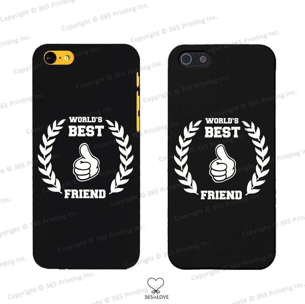 World's Best Friend Matching BFF Phone Covers iPhone 4 5 5c Galaxy S3 S4 S5 | eBay