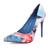 Floral Vintage Cloth Pointed Toe Stiletto Heel Pumps : KissChic.com