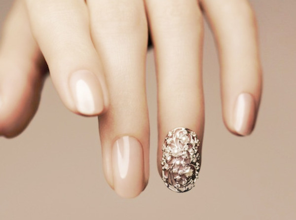 nail armour jewels