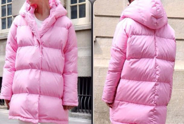 coat downbed down down jacket down-bed down jacket down jacket pink
