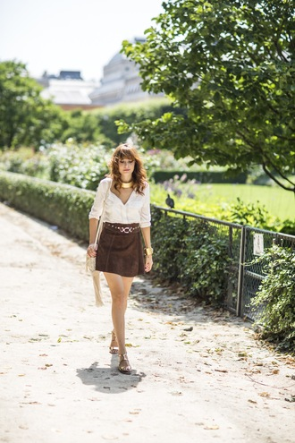 miss pandora skirt jeans bag jewels shoes shirt