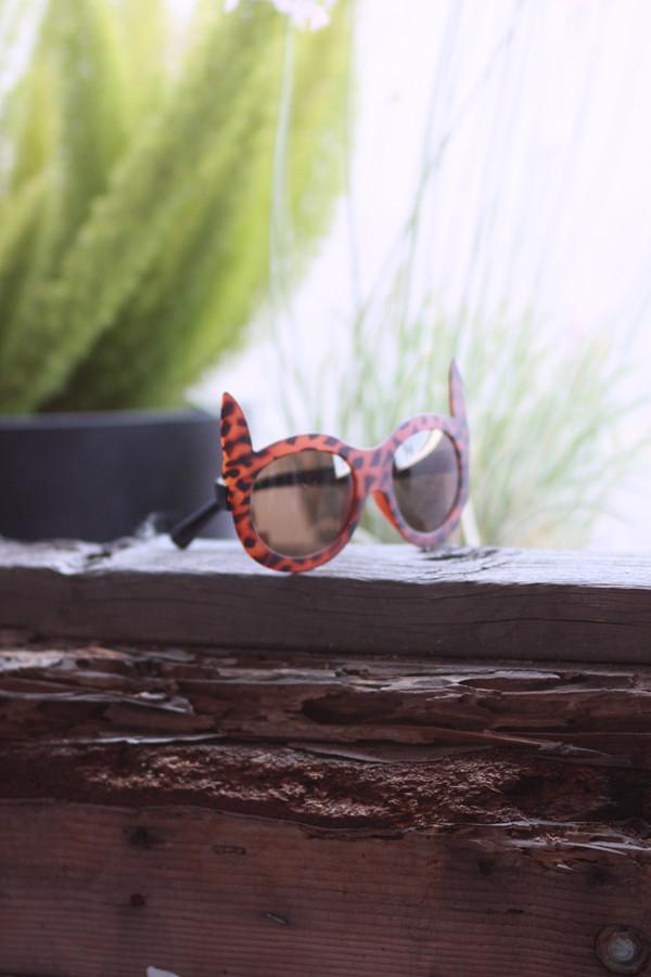 sunglasses cat ear sunglasses leopard print leopard print leopard sunglasses retro sunglasses retro vintage hipster
