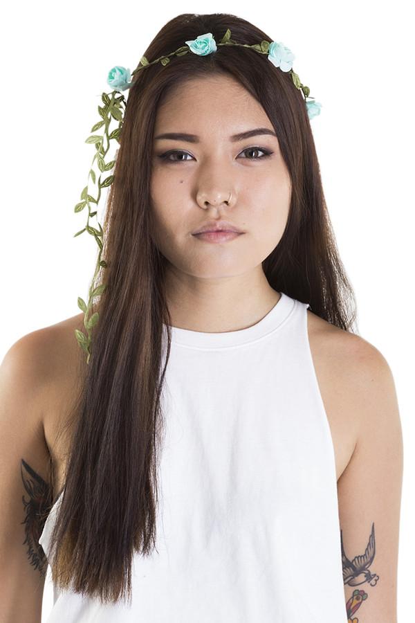 hair accessory xirl flower crown