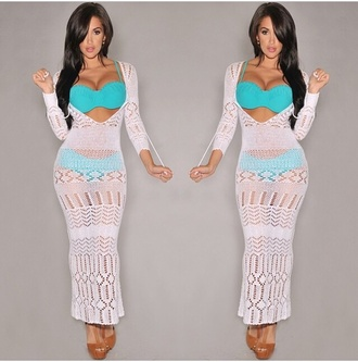 white crochet dress white crochet white white dress white maxi dress maxi dress maxi cover up crochet swimwear