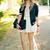 Luxurious White Dot Mesh Plane Party Dress | Choies