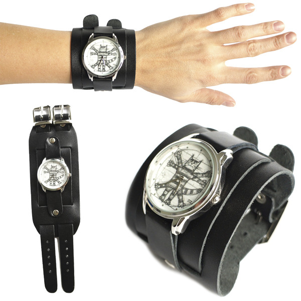 jewels ziz watch watch watch black leather watch unusual watch unique watch funny watch designer watch exclusive watch ziziztime