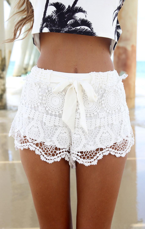 Milla Crochet Shorts – Fashion Sanity