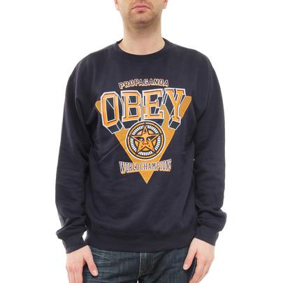 Obey - World Champions Sweater - Navy | hhv.de | shop