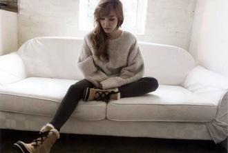 tiffany jumper elle korean fashion elle korea