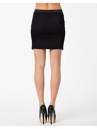 Pavo Wrap Skirt - Vero Moda - Zwart - Rokken - Kleding - Vrouw - Nelly.com