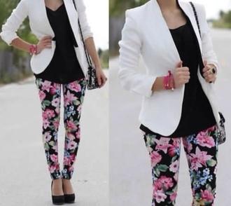 leggings floral liberty