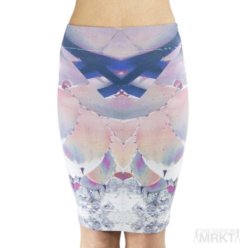 Thatcher by Alisse Thatcher Minimalist Bodycon Tube Skirt  / TheFashionMRKT