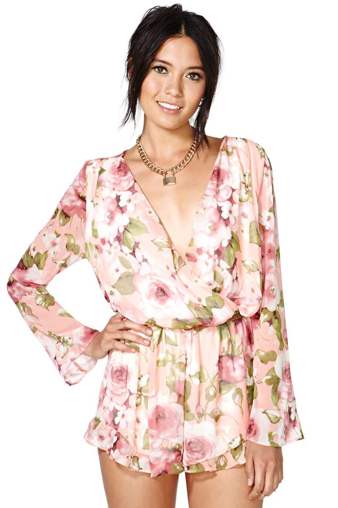 Garden Party Romper | Shop Clothes at Nasty Gal