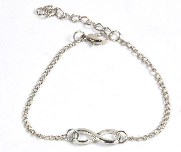 Fashion Punk Metal Infinity Statement Bracelet Bracelets New 5 Colors u pick Hot | eBay