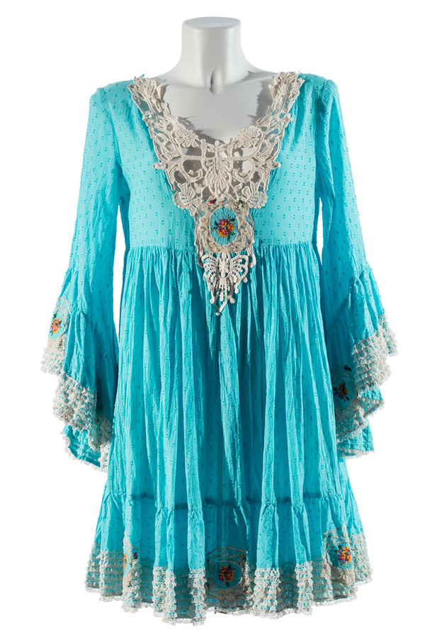 dress bohemian boho boho dress hippie lace