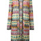 Missoni zig zag cardigan, women's, size: 42, viscose/cupro/polyester