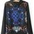 Retro Floral Print Chiffon Shirt [DLN0114] - PersunMall.com