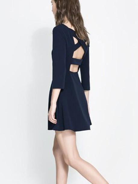 dress women backless backless dress