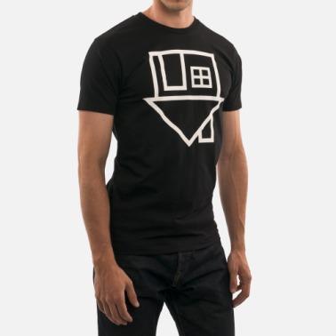 """The Neighbourhood """"""""Flipped House"""" T-Shirt (Black)"""" @ The Neighbourhood Store"""