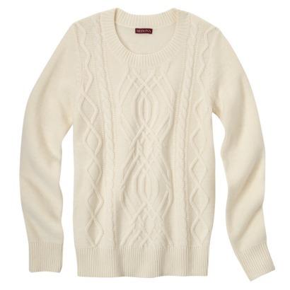 Merona® Women's Chunky Cable Sweater - Assor... : Target