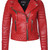 Kay Michaels Quilted Biker (Pop Red) – BODA SKINS - Leather to Love Forever